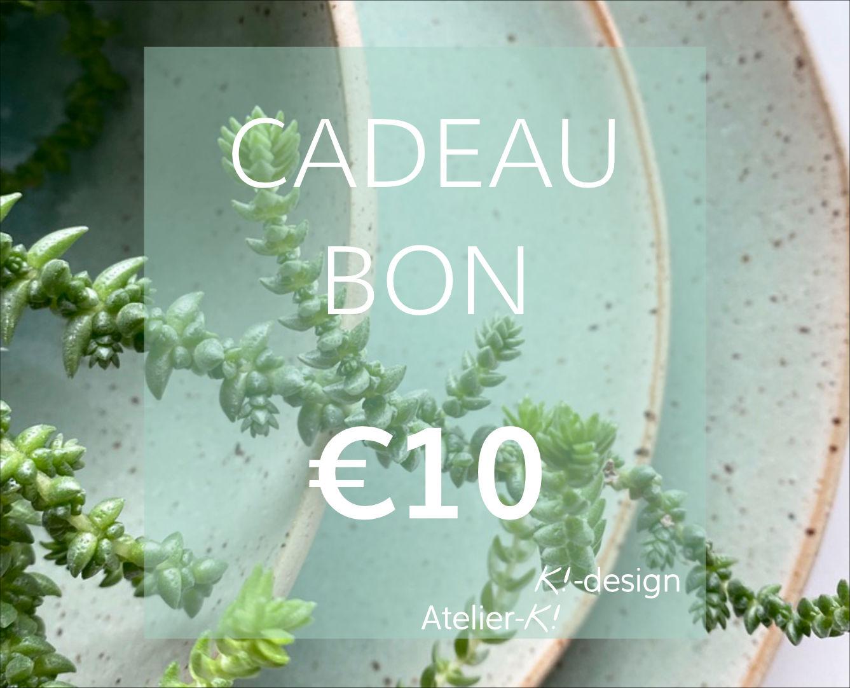 Image Cadeaubon €10
