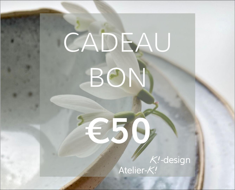 Image Cadeaubon €50