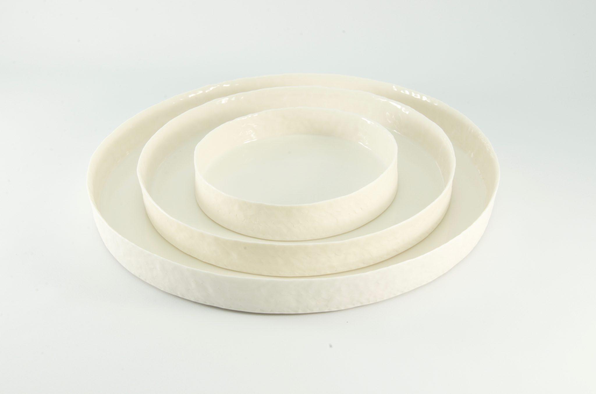 Image La Blache platte schalen