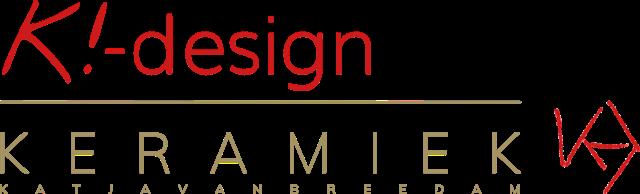 Logo K!-Design door Katja Van Breedam | Artistieke creaties en functioneel design in keramiek